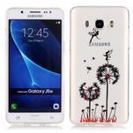 Průhledný obal na mobil Samsung Galaxy J5 (2016) - pampelišky - 1/4