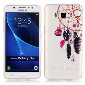 Průhledný obal na mobil Samsung Galaxy J5 (2016) - snění - 1