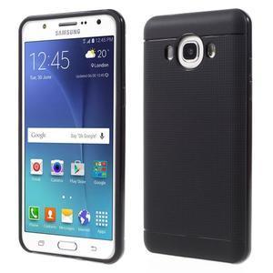 Hybridní obal 2v1 na mobil Samsung Galaxy J5 (2016) - černý - 1