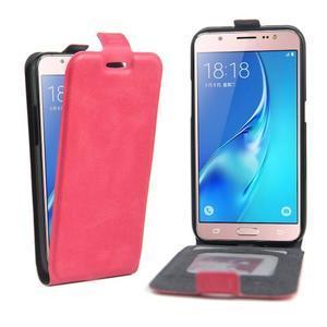 Flipové pouzdro na mobil Samsung Galaxy J5 (2016) - rose - 1