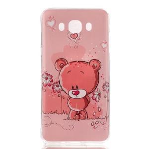 Softy gelový obal na mobil Samsung Galaxy J5 (2016) - medvídek - 1