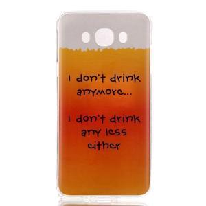 Softy gelový obal na mobil Samsung Galaxy J5 (2016) - drink - 1