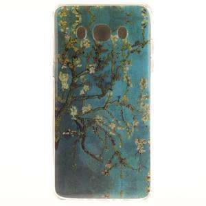 Gelový obal na mobil Samsung Galaxy J5 (2016) - kvetoucí strom - 1