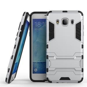 Odolný kryt na mobil Samsung Galaxy J5 (2016) - stříbrný - 1