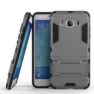 Odolný kryt na mobil Samsung Galaxy J5 (2016) - šedý - 1