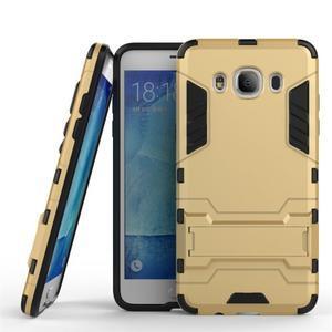 Odolný kryt na mobil Samsung Galaxy J5 (2016) - zlatý - 1