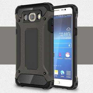 Armor 2v1 odolný obal na Samsung Galaxy J5 (2016) - tmavěšedý - 1