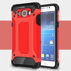 Armor 2v1 odolný obal na Samsung Galaxy J5 (2016) - červený - 1