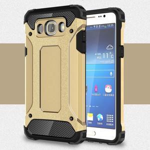 Armor 2v1 odolný obal na Samsung Galaxy J5 (2016) - zlatý - 1