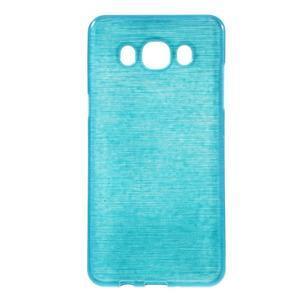 Brushed gelový obal na mobil Samsung Galaxy J5 (2016) - modrý - 1