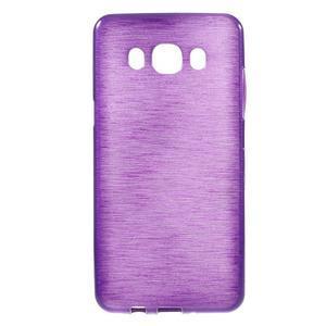 Brushed gelový obal na mobil Samsung Galaxy J5 (2016) - fialový - 1