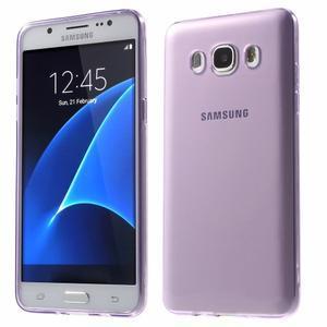 Ultratenký slim gelový obal na Samsung Galaxy J5 (2016) - fialový - 1