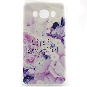 Flexi obal na mobil Samsung Galaxy J5 (2016) - beautiful - 1