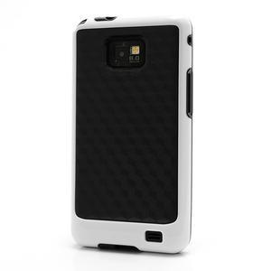 Cube odolný obal na mobil Samsung Galaxy S2 - bílý - 1