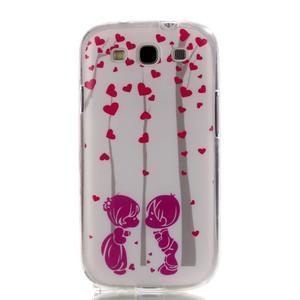 Gelový obal na mobil Samsung Galaxy S3 - láska - 1