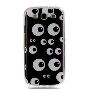 Gelový obal na mobil Samsung Galaxy S3 - kukuč - 1