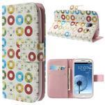 Funy pouzdro na mobil Samsung Galaxy S3 - disky - 1/7