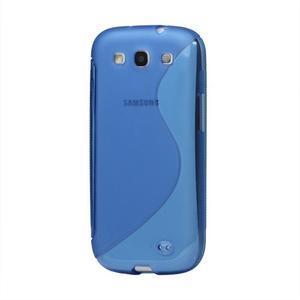 S-line gelový obal na Samsung Galaxy S3 - modrý - 1