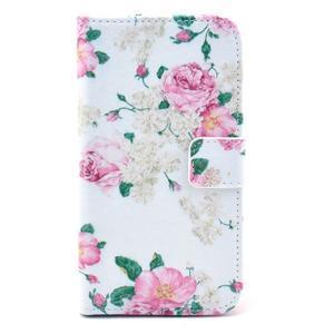 Pictu pouzdro na mobil Samsung Galaxy S3 - květinová koláž - 1