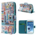 Knížečkové pouzdro na Samsung Galaxy S3 - New York - 1/7