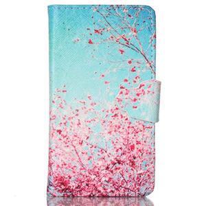 Emotive pouzdro na mobil Samsung Galaxy S3 mini - kvetoucí švestka - 1