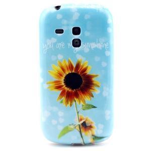 Gelový obal na mobil Samsung Galaxy S3 mini - sunflower - 1