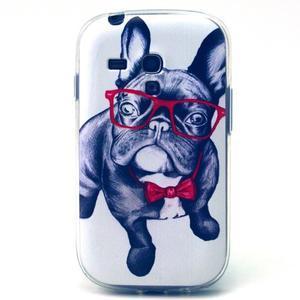 Gloss gelový kryt na Samsung Galaxy S3 mini - buldog - 1