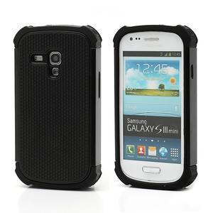 Outdoor odolný obal na mobil Samsung Galaxy S3 mini - černý - 1