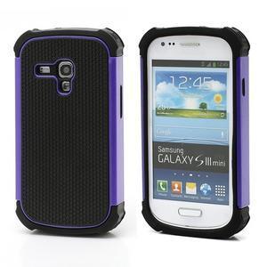 Outdoor odolný obal na mobil Samsung Galaxy S3 mini - fialový - 1