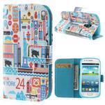 Knížkové pouzdro na mobil Samsung Galaxy S3 mini - New York - 1/7