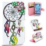 Standy peněženkové pouzdro na Samsung Galaxy S4 - lapač snů - 1/7