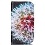 Emotive knížkové pouzdro na Samsung Galaxy S4 - barevená pampeliška - 1/6