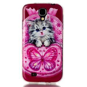Softy gelový obal na mobil Samsung Galaxy S4 - koťátko - 1