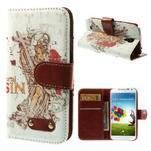 Elegant peněženkové pouzdro na Samsung Galaxy S4 - mortal - 1/7