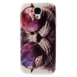 Ultratenký slim gelový obal na Samsung Galaxy S4 - cool kočka - 1