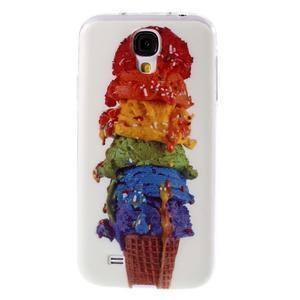 Ultratenký slim gelový obal na Samsung Galaxy S4 - zmrzlina - 1