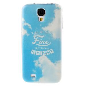 Ultratenký slim gelový obal na Samsung Galaxy S4 - Fine - 1