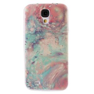 Ultratenký slim gelový obal na Samsung Galaxy S4 - malba - 1