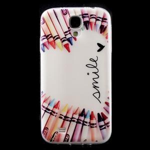 Slim gelový obal na mobil Samsung Galaxy S4 - smile - 1