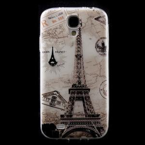 Slim gelový obal na mobil Samsung Galaxy S4 - Eiffelova věž - 1