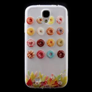 Slim gelový obal na mobil Samsung Galaxy S4 - donuts - 1
