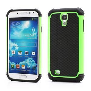 Outdoor odolný silikonový obal na Samsung Galaxy S4 - zelený - 1
