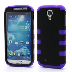 Extreme odolný gelový obal 2v1 na Samsung Galaxy S4 - fialový - 1