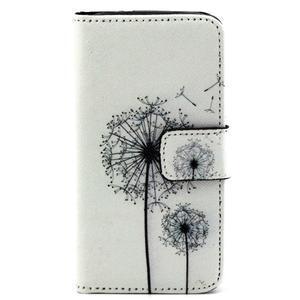 Pouzdro na mobil Samsung Galaxy S4 mini - odkvetlé pampelišky - 1