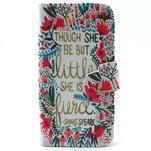 Diaryleather pouzdro na mobil Samsung Galaxy S4 mini - Shakespeare - 1/7