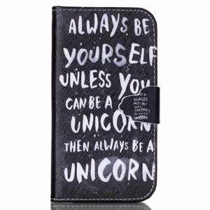 Emotive peněženkové pouzdro na Samsung Galaxy S4 mini - unicorn - 1