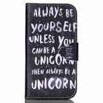 Emotive peněženkové pouzdro na Samsung Galaxy S4 mini - unicorn - 1/6