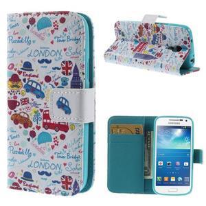 Style peněženkové pouzdro na Samsung Galaxy S4 mini - Londýn - 1