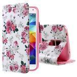 Ochranné pouzdro na mobil Samsung Galaxy S5 - květinová koláž - 1/6