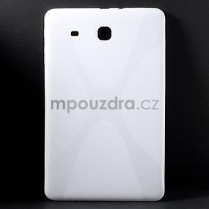X-line gelové pouzdro na tablet Samsung Galaxy Tab E 9.6 - bílé - 1